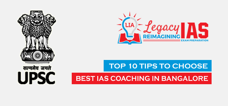 How to select best IAS Coaching in Bangalore