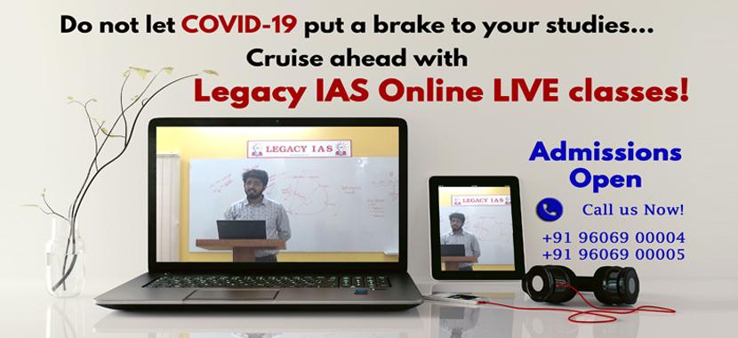 COVID-19 Online Classes for UPSC Online Coaching Live Classes IAS exam Civil Services Examination Coaching Online